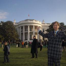 Performing at the White House.